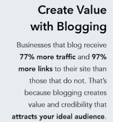 Blogs increase traffic 77%