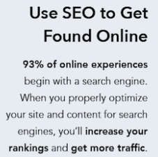 92% of all online experiences begin with a search engine