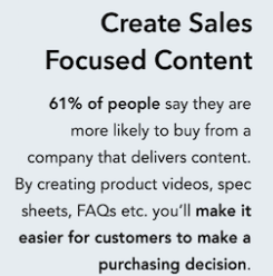 61% of people say they prefer content