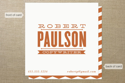 Minted Business Card