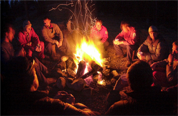 Campfire Stories and Small Business Marketing